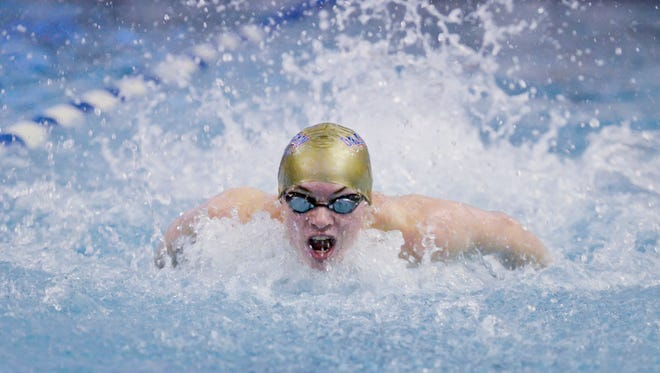 Dallastown's Spencer Hill is expecting to have big season in the pool for the Wildcats' swimming team this winter.