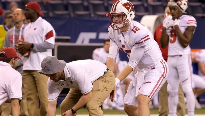 UW quarterback Alex Hornibrook started nine games as a redshirt freshman in 2016.