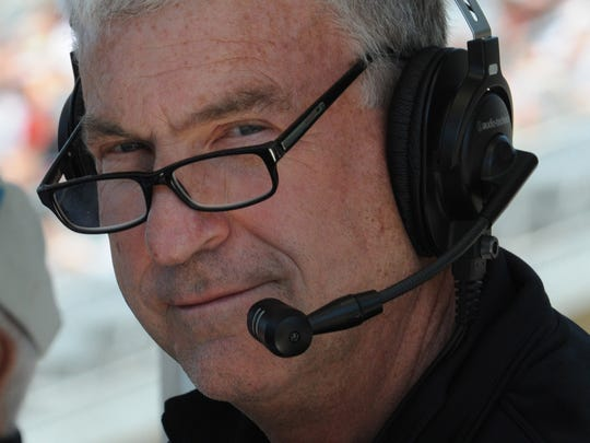 Bob Jenkins of The IMS  announcing crew at The Indianapolis
