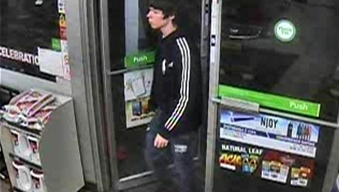 Police say this subject passed counterfeit bills at businesses in Elmira Heights and the Arnot Mall in Big Flats.