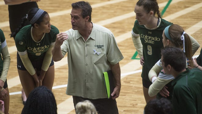 The CSU volleyball team plays at Wyoming at 6:30 p.m. Tuesday in a key Mountain West match.