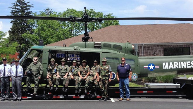 This HUEY UH-H1 Iroquoi will be featured in the Gettysburg Memorial Day Parade.