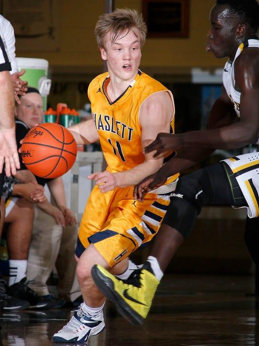 Haslett at Waverly Basketball