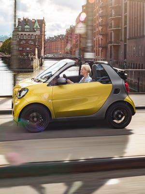 Smart is showing the new ForTwo Cabrio