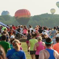 Balloon festival daily schedule