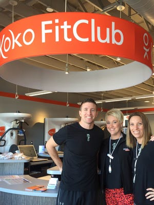 Tommy Hofer, Jessica Schaap and  Amber Bartmann are the franchise owners of Koko FitClub in Sioux Falls.