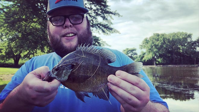 Weedy areas in lakes and ponds can be perfect spots to target panfish like bluegill or crappie during the early summer.