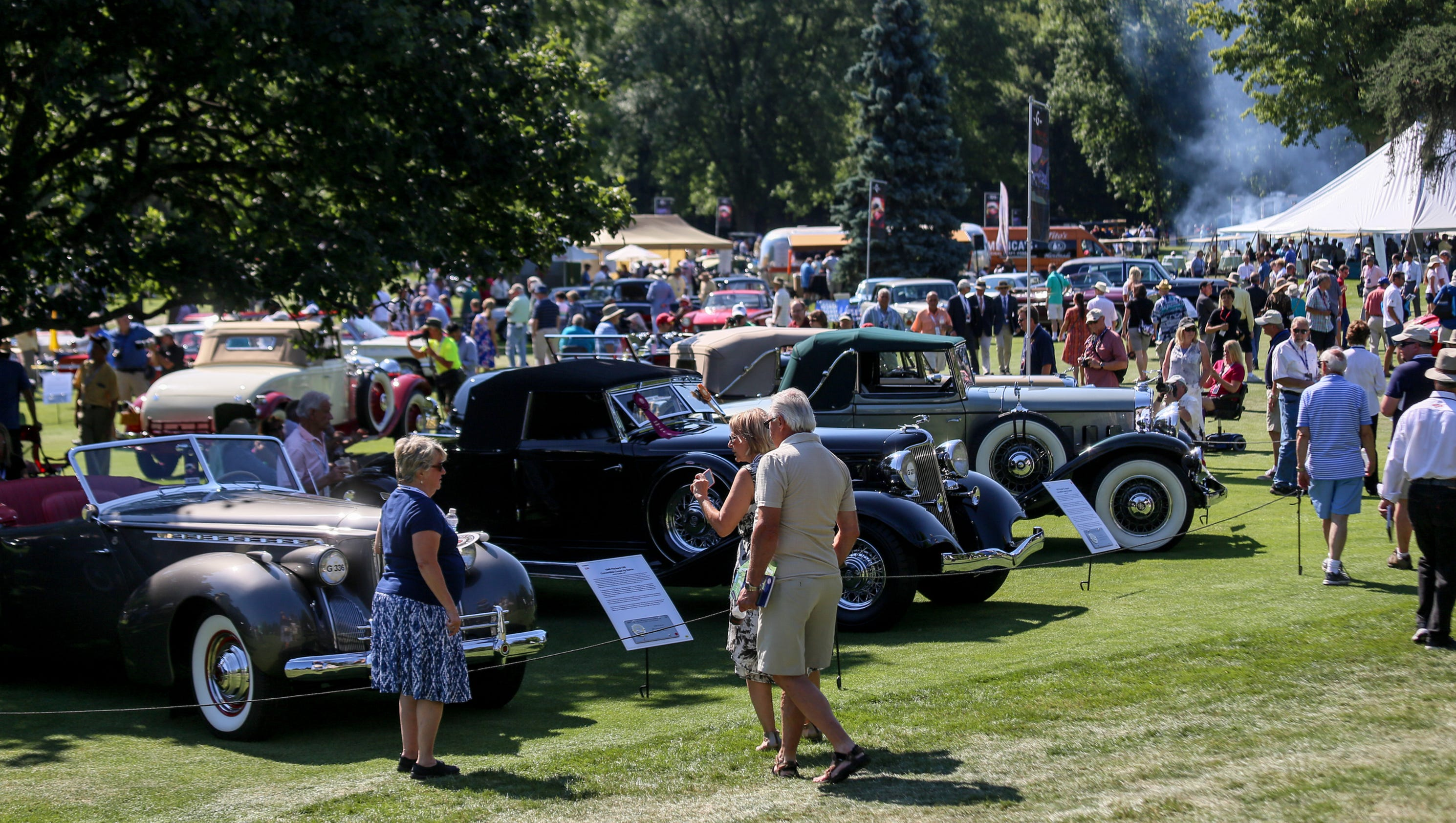 Rare classic cars at Concours d\'Elegance draw big crowd
