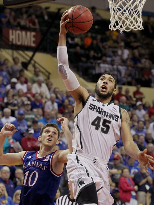 Michigan St Kansas Basketball
