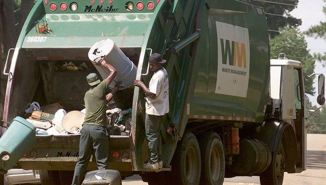 Waste Management employees