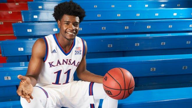 Josh Jackson is Kansas' much-hyped freshman.