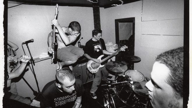 The melodic hardcore band Lifetime is one of the seminal acts of the New Brunswick basement scene.