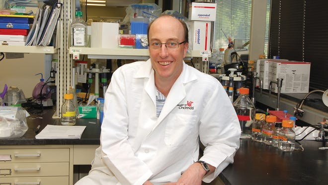Randy Seeley, director of the Cincinnati Diabetes and Obesity Center and professor in the endocrinology, diabetes and metabolism division at the University of Cincinnati. Seeley worked on the study that shows the change in bile acids in the stomach is why gastric bypass surgery works.