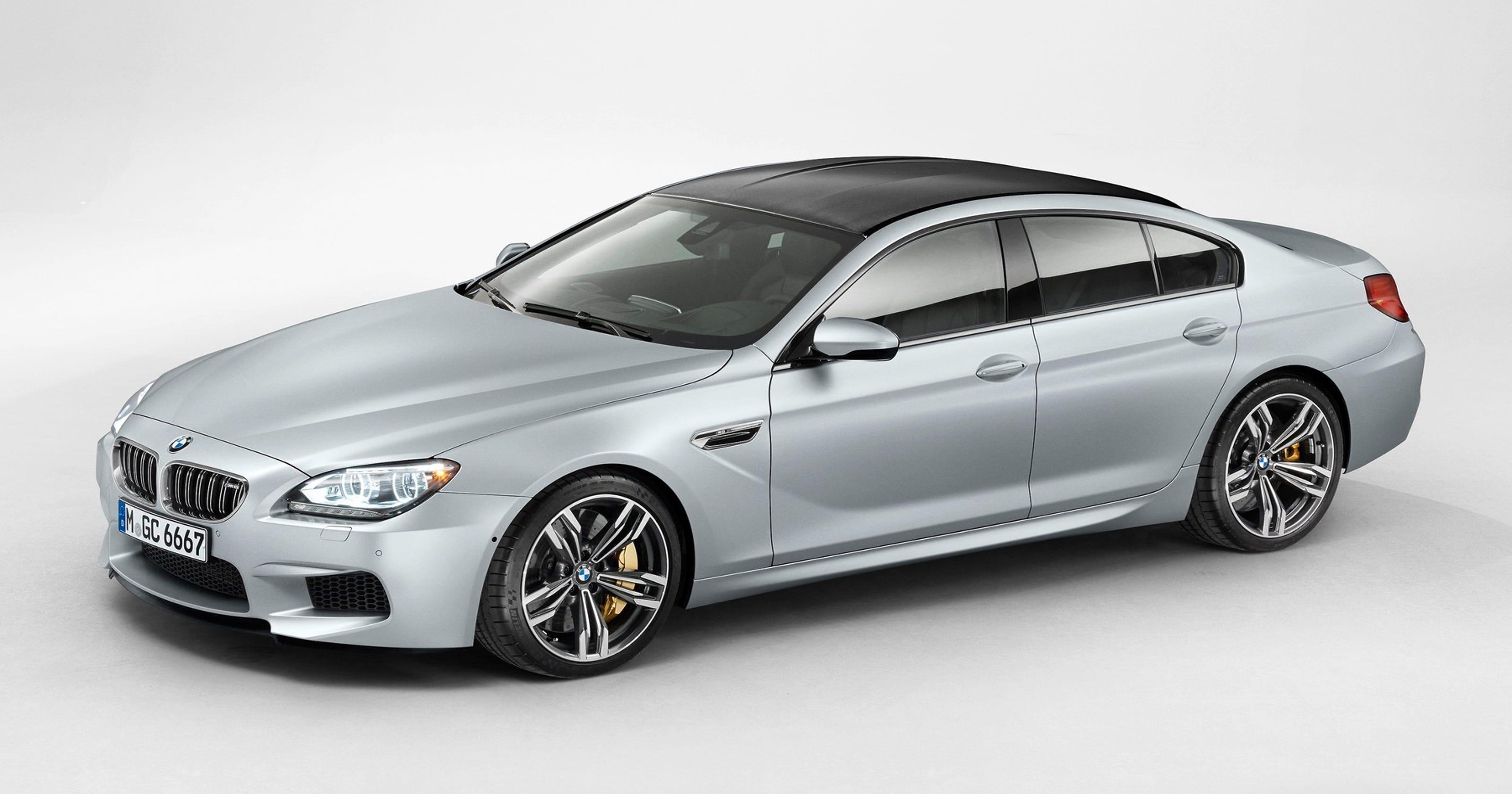 מגניב 2014 BMW M6 Gran Coupe blends styling, performance WD-26