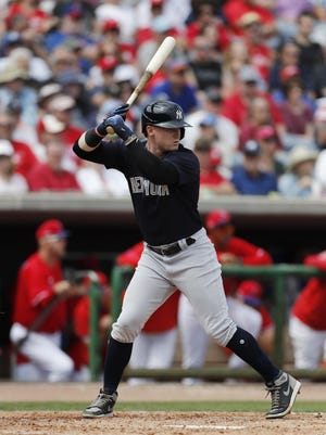 Clint Frazier and Yankees could be in the same division as the National League's Phillies in a plan to keep MLB teams at their spring training sites when play resumes.