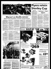 BC Sports History - Week of May 28, 1975