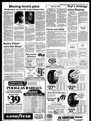 Battle Creek Sports History - Week of June 25, 1975