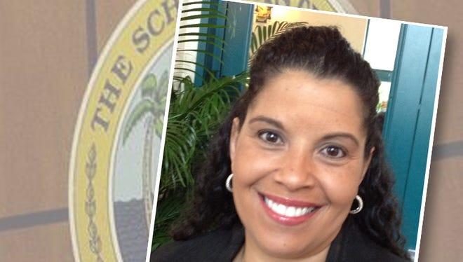 Cypress Lake High School principal Tracy Perkins resigned today