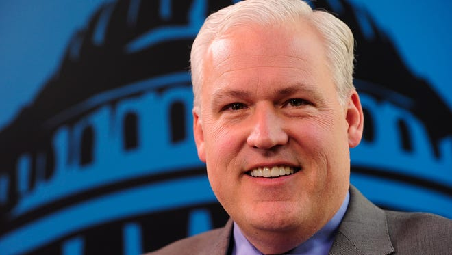 Matt Schlapp, chairman of the American Conservative Union, is interviewed by USA TODAY Washington Bureau Chief Susan Page.