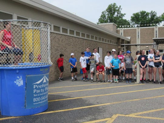 Fun and teamwork at Roosevelt School's first field day