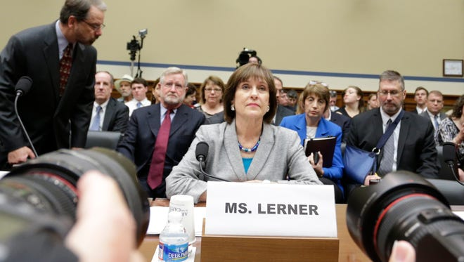Lois Lerner appears before the House Oversight and Government Reform Committee on May 22, 2013.