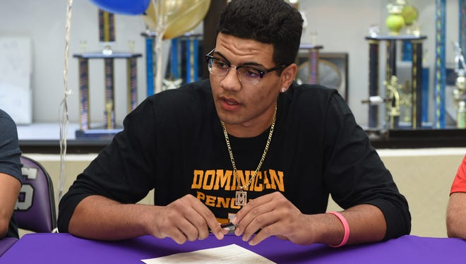 Spanish Springs senior Marcus Loadholt signed to play basketball at Dominican University in San Rafael, Calif.