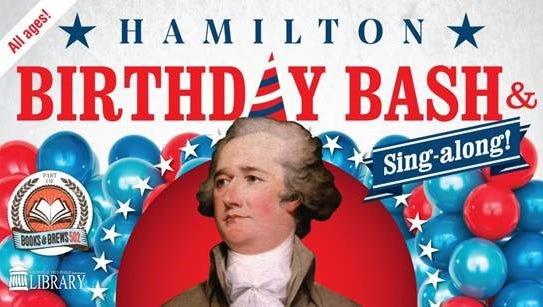 Free Hamilton Birthday Bash at the Louisville Free Public Library