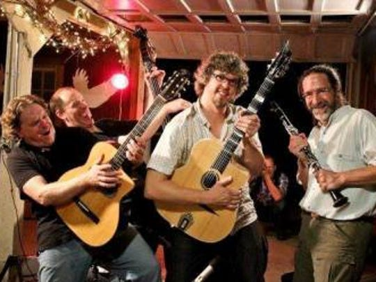 Caravan Gypsy Jazz Ensemble will present at evening of music Oct. 29 at Wildwood Station Pavilion.