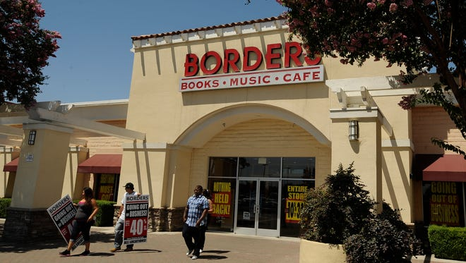 In this 2011 photo, the closing sale has begun for Borders stores including the Sequoia Mall location. Serrano's Furniture plans to move into the space.