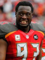 Tampa Bay Buccaneers defensive tackle Gerald McCoy
