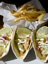 Fish Tacos from Nico Kitchen + Bar in Newark on Wednesday,