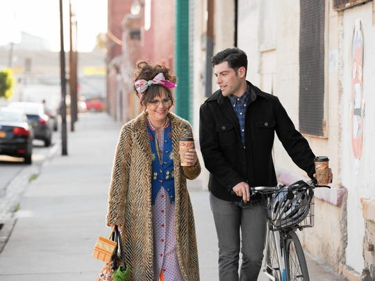 """Could romance blossom between Doris (Sally Field) and much-younger co-worker  John (Max Greenfield)? That's  one of the questions in """"Hello, My Name is Doris."""""""