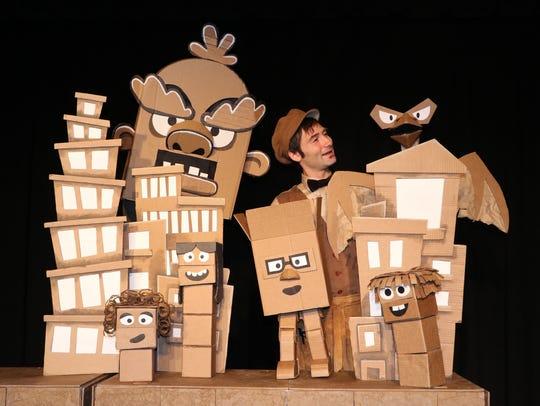 Puppeteer Bradford Shur's studio is at Clinton Street