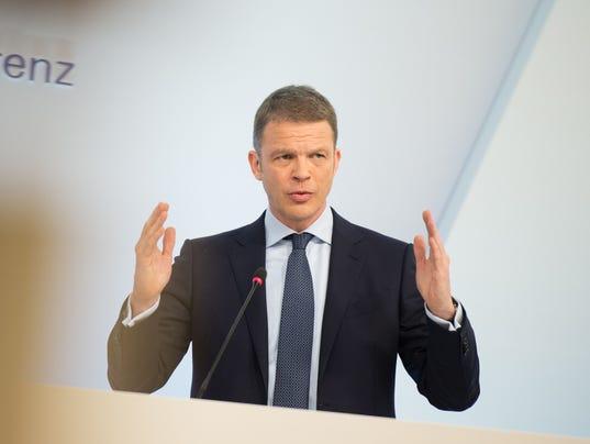 DEUTSCHE BANK CEO SUCCESSION