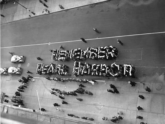 WWII NYC PEARL HARBOR RALLY