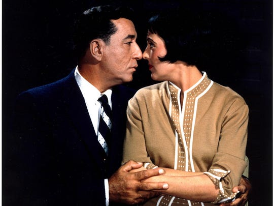 Keely Smith with then-husband Louis Prima. The two