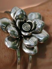 Flower Cuff Bracelet , $29.jpg
