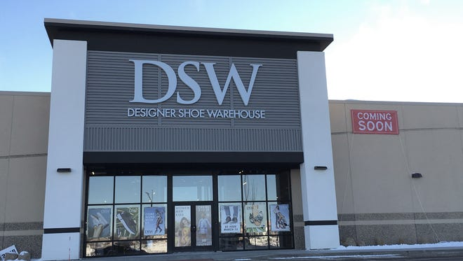 The DSW Designer Shoe Warehouse in the Lake Lorraine mixed-use development.