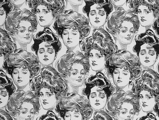 Pictured is wallpaper created with images of Gibson