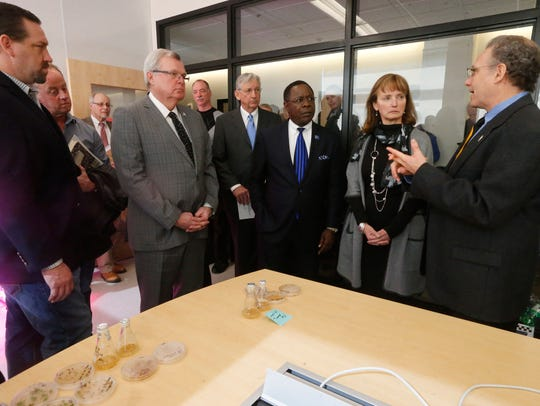 Legislators learn more about and take a tour of the
