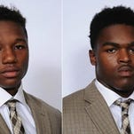 Bryson White, left, and Ron George