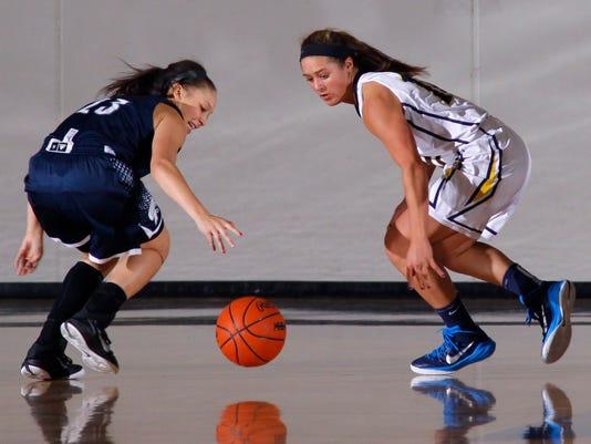 East Lansing at DeWitt High School Basketball