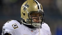 Zach Strief has played his entire NFL career with the Saints since they drafted him in the seventh round in 2006.