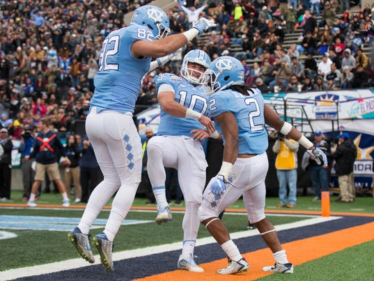 NCAA Football: Sun Bowl-Stanford vs North Carolina