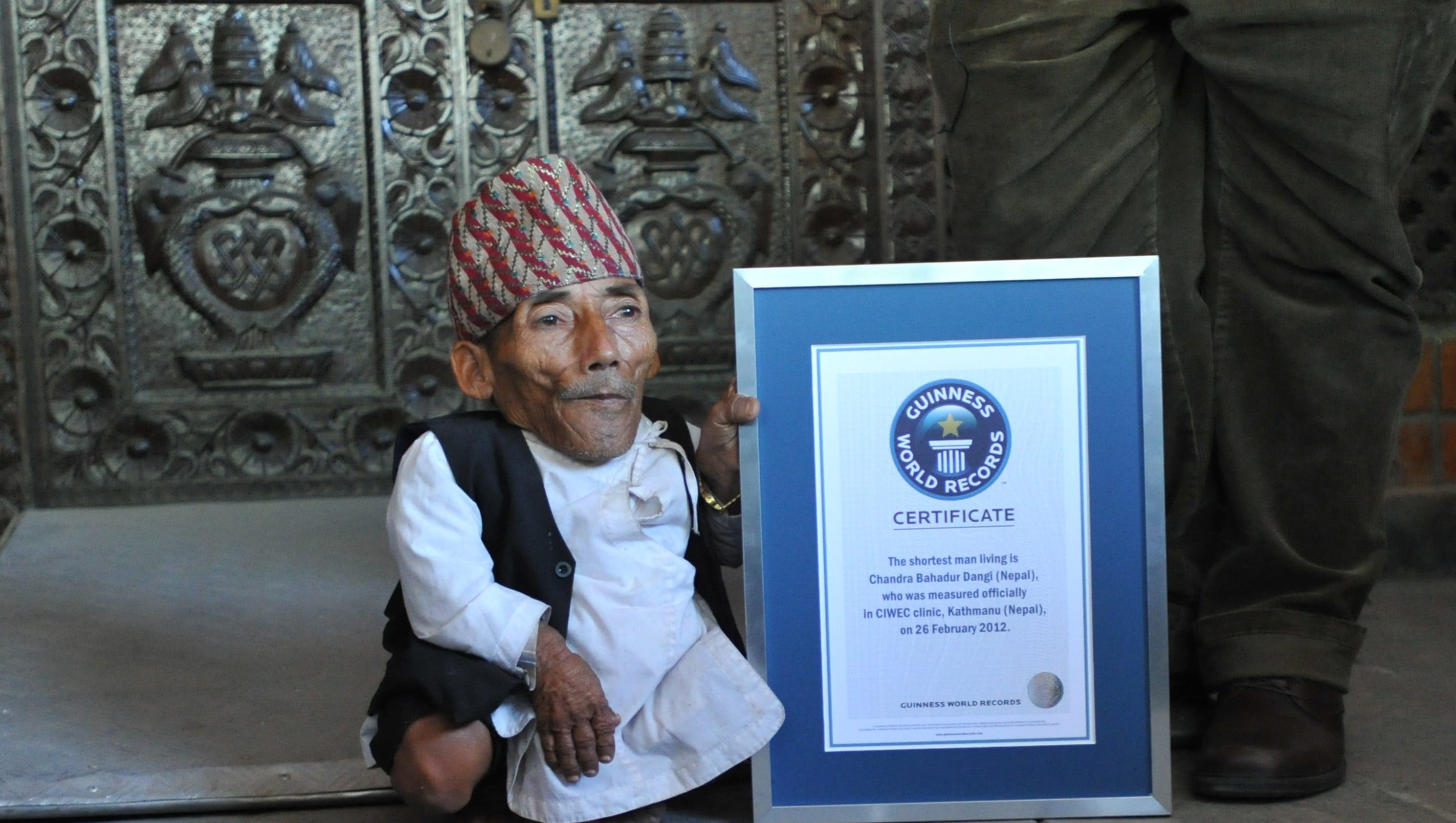Shortest man in world died, Guinness World Records says