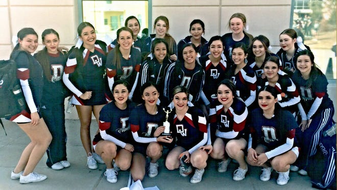 The Deming High Wildcat Cheerleaders are scheduled to perform at 1:18 p.m. Friday and 4:20 p.m. on Saturday in The Pit in Albuquerque during the 2017 State Spirit Championships presented by Varsity Spirit.