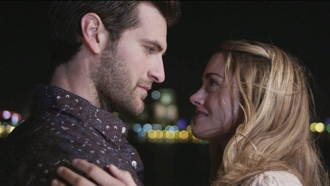 """Alan Powell and Ali Faulkner star in """"The Song."""""""
