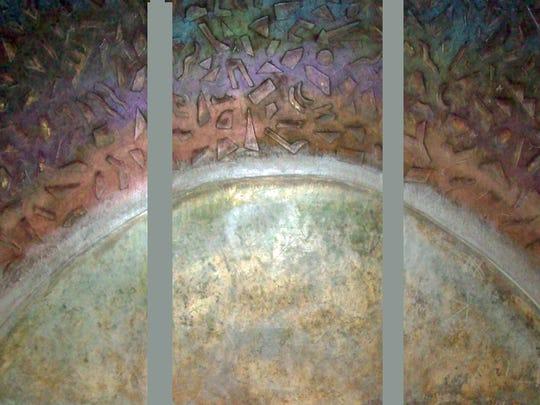 Venus Rising triptych