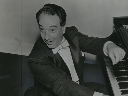 Pianist and comedian Victor Borge (shown in a 1956