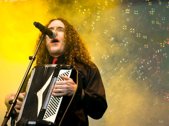 """""""Weird Al"""" Yankovic will perform on May 28 at Old National Centre."""